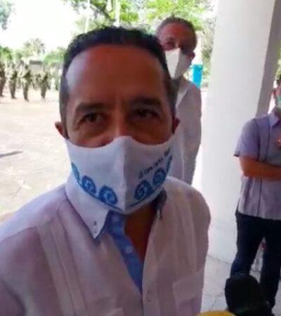 """""""ASÍ ES LA DEMOCRACIA"""": Rechaza Gobernador Carlos Joaquín señalamientos hechos en su contra por la senadora Marybel Villegas"""