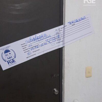 Catea FGE inmueble utilizado para almacenar artículos robados en el fraccionamiento Misión de las Flores de Playa del Carmen