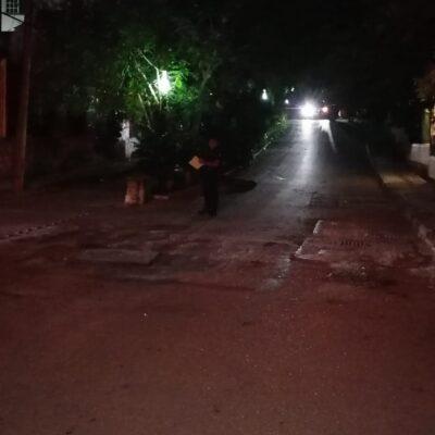 APARECE OTRO 'ENSABANADO', PERO AHORA EN PLAYA: Hallan cadáver con signos de tortura en las inmediaciones del parque La Ceiba de la colonia Ejidal