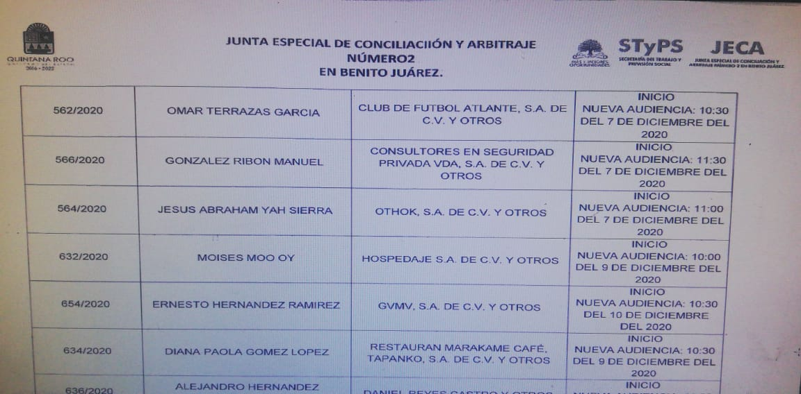 Omar Terrazas, esposo de la Alcaldesa Mara Lezama, demanda al Atlante por cuestiones laborales