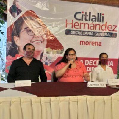 Rechaza Citlalli Hernández que Morena y el PVEM continúen en alianza para la elección de 2021