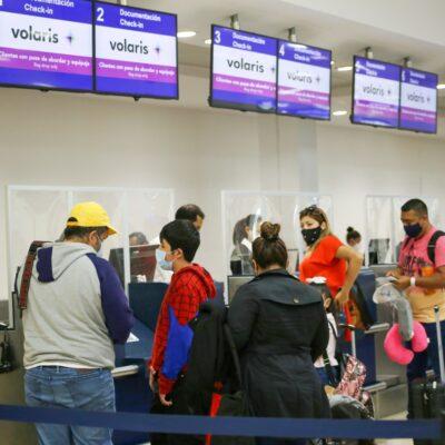Supera Cancún las 250 operaciones aéreas, máximo registro desde inicio de la pandemia