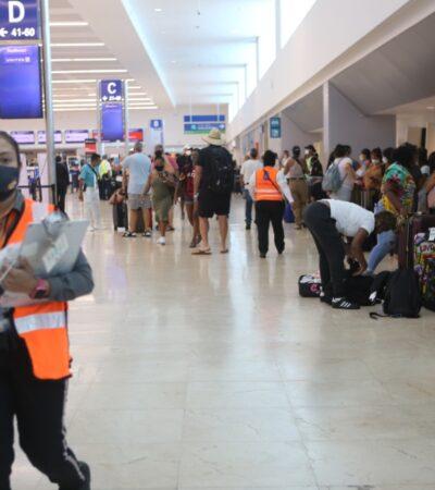 REACTIVACIÓN EN MARCHA: Aeropuerto de Cancún con cerca de 500 operaciones en dos días