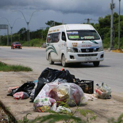 GRAVE PROBLEMA DE BASURA EN CANCÚN: Proponen que varias recolectoras de desperdicios atiendan sectores de Cancún