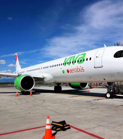 Anuncia Viva Aerobús nuevo vuelo Ciudad de México-Chetumal