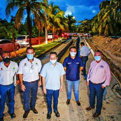 Con inversión de 248 mdp del Gobierno de Quintana Roo, inauguran en Cozumel infraestructura de agua potable, drenaje y saneamiento en el fraccionamiento Altamar