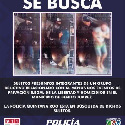 Investigan en Cancún la desaparición de dos personas sacadas de un domicilio por hombres armados