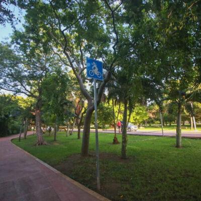 Invertirá Fonatur 14 mdp en ciclovía y adecuación de área deportiva del bulevar Kukulcán