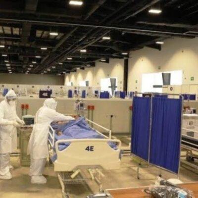 Personal médico del hospital emergente Siglo XXI en Yucatán denuncia falta de pago