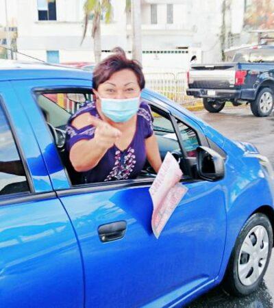 NUEVA PROTESTA CONTRA ROBERTO POOT: Caravana automovilística de burócratas en rechazo al intento de reelección del líder del Sutage en QR