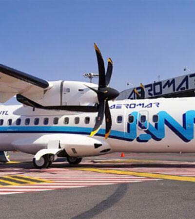 Amplía Aeromar los vuelos entre Puerto Vallarta y CDMX