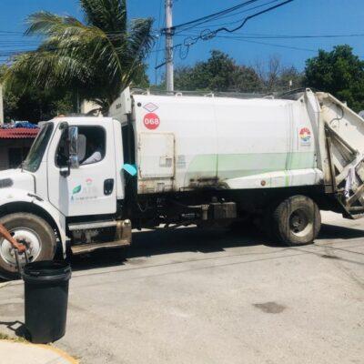 Crean programa piloto para resolver deficiencias de concesionaria en la recolección de basura en Cancún