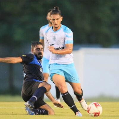 Fractura deja fuera de la temporada al delantero brasileño Igor Neves de Cancún FC