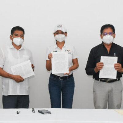 Dona el Ejido de Puerto Morelos 10 hectáreas para la construcción de una planta de tratamiento de aguas residuales