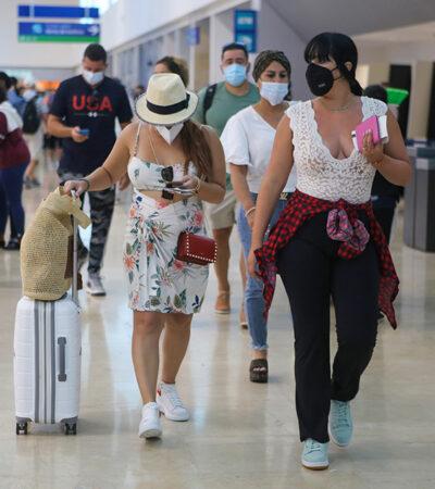En octubre reanudarán los vuelos entre Colombia y Cancún