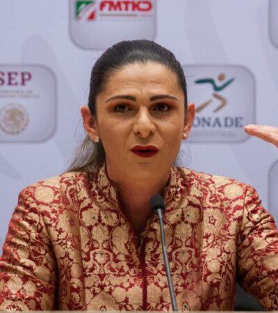 SONORA   Ana Gabriela Guevara irá por la gubernatura de Sonora, según líder estatal del PT