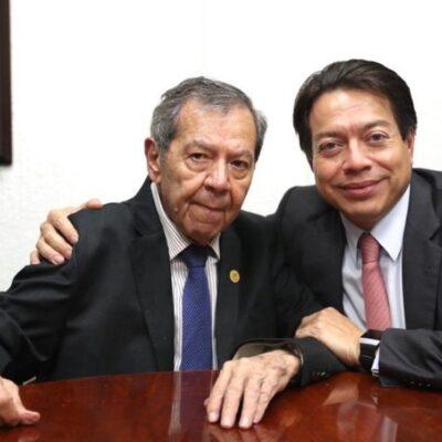 Muñoz Ledo y Delgado empatan en encuesta para la presidencia de Morena; Citlalli arrasa y será secretaria general