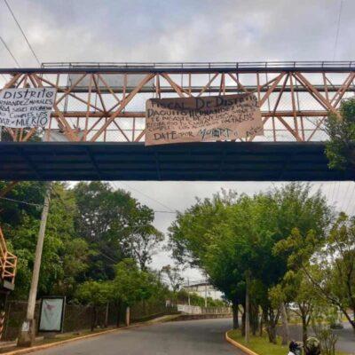 SE LLEVAN PESADO: Narcomantas y corona contra fiscal de Veracruz fue una broma de sus colegas…