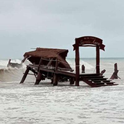 LIBRA COZUMEL LAS INCLEMENCIAS DE 'GAMMA': Reportan sólo daños menores tras el paso de la tormenta tropical