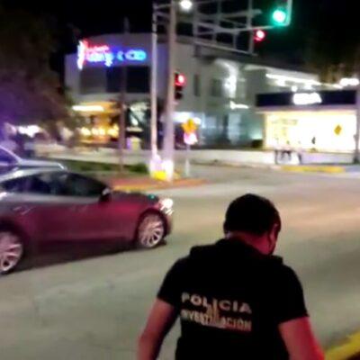 BALEAN A UN HOMBRE EN CANCÚN: Detienen a dos sospechosos tras ataque en el cruce de las avenidas Palenque y Xcaret