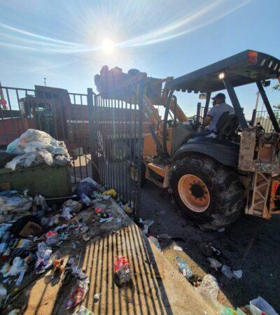 Intelligencia México tendrá que garantizar capacidad de infraestructura para poder retomar la recoja de basura en Cancún, advierten