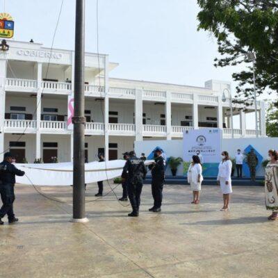 Gobierno del estado conmemora 46 aniversario de QRoo como Estado mientras XVI Legislatura cancela sesión solemne