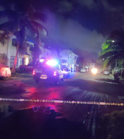 ¿ASALTO O INTENTO DE EJECUCIÓN?: Hieren de bala a un hombre en la Región 201 de Cancún