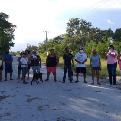 Aumenta la tensión en los límites de Cancún e Isla Mujeres por las protestas ciudadanas a falta de luz y apoyo humanitario
