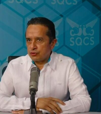 PREVÉN QUE HURACÁN CASI ALCANCE CATEGORÍA 4: Gobernador actualiza en directo información sobre la trayectoria e intensidad de 'Delta' | TRANSMISIÓN EN VIVO