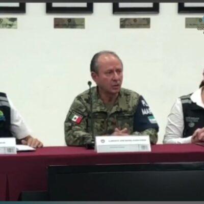 REPORTA SEMAR SALDO BLANCO EN QR Y YUCATÁN: Confirma Rafael Ojeda Durán que daños fueron menores, pero fuerzas armadas continuarán ayudando en las labores de limpieza de municipios afectados por el huracán 'Delta'
