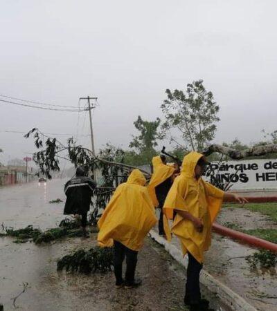YUCATÁN | Suman 301 mil 146 habitantes afectados por 'Gamma' y 'Delta'; Vila solicita Declaratoria de Emergencia