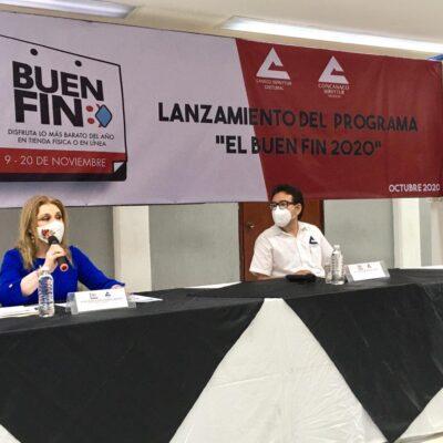 """Prevén participación de 500 comercios en el """"Buen Fin"""" de Chetumal"""