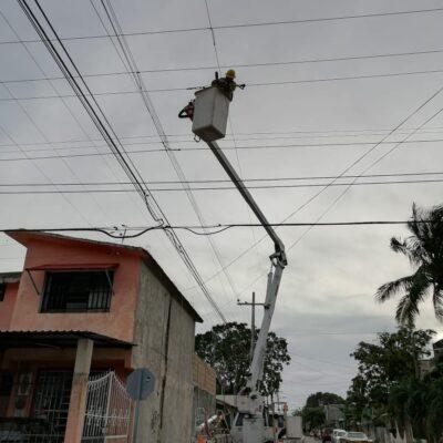 DE LOS QUE DIJERON QUE NO IBAN A CORTAR LA ENERGÍA…: Asegura CFE que para mañana se restablecerá el total del suministro eléctrico en QR y Yucatán