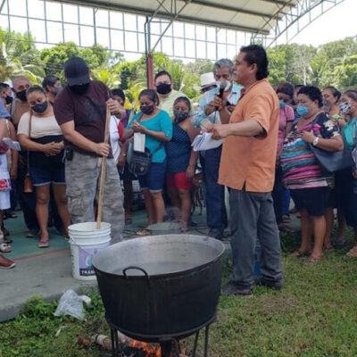 Capacita Sedarpe a mujeres mayas sobre agricultura sustentable