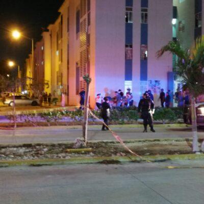 LE DIERON SEIS DISPAROS: Balean a un joven originario de Puebla en la Región 107 de Cancún