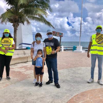 Intensifican acciones para prevenir el COVID-19 en Puerto Morelos